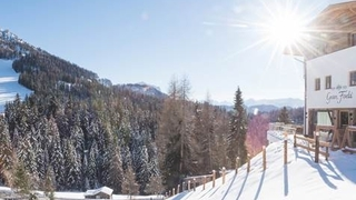 Skiraum direkt auf Skiern erreichbar