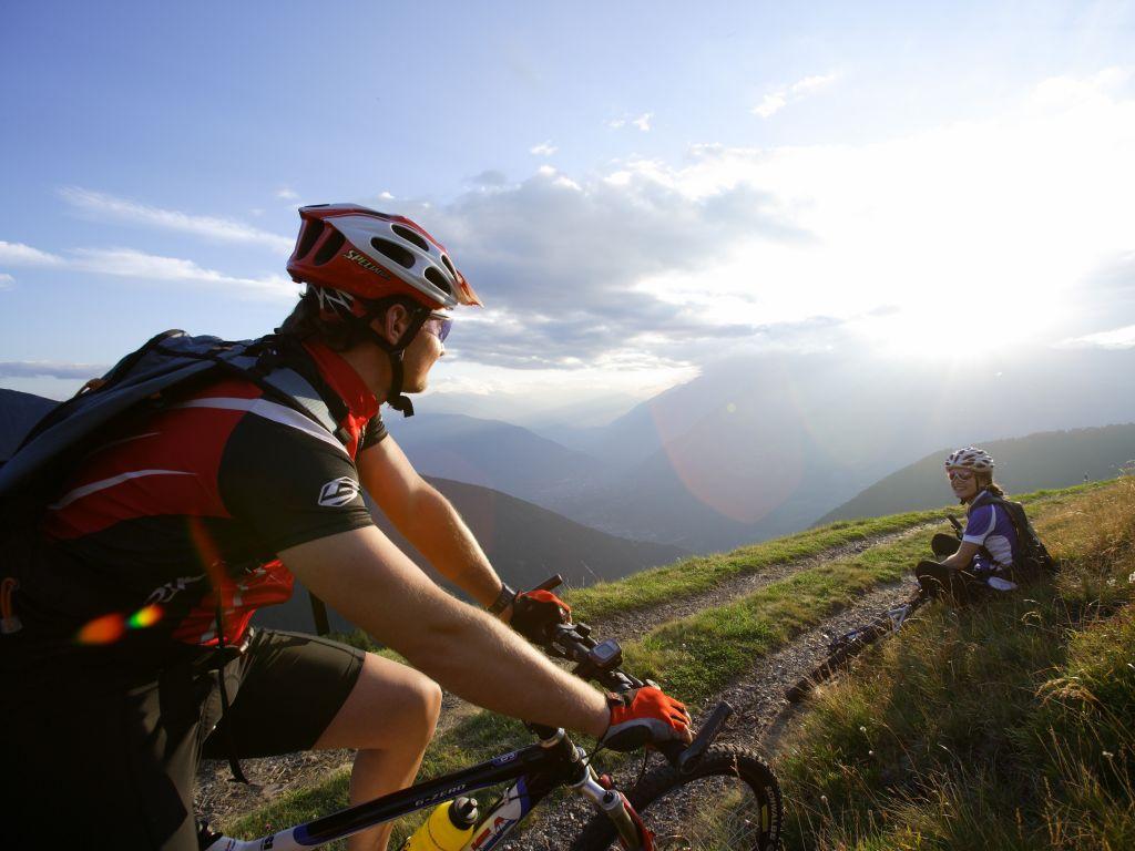 Urlaubsangebote Fahrradtour vom Reschenpass bis Verona
