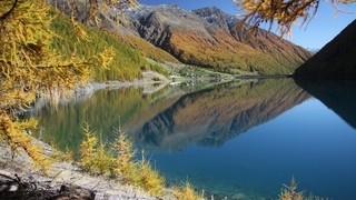 Autunno in montagna in Val Senales