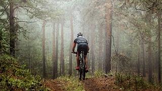 Mit dem Mountainbike durch die Dolomiten