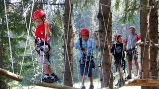 Divertimento in montagna per bambini e genitori nell'area vacanza Gitschberg Jochtal