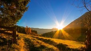 Herbststimmung in den Dolomiten