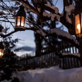 Natale in montagna