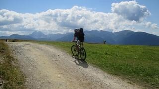 Bici e correre in montagna