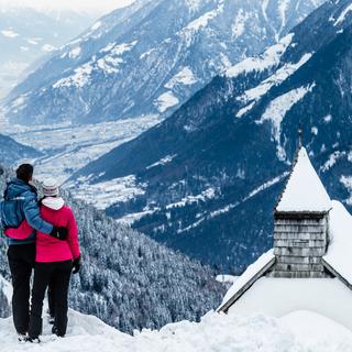 Winterzeit in Schenna