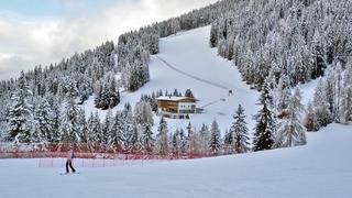 Ski-room reachable directly on skis!