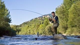 Pescare lungo il fiume Passirio