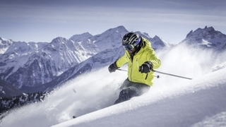 Enjoy skiing at the Corona