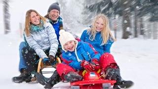 Winter family ski package
