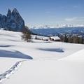 Magici momenti invernali sulle Dolomiti