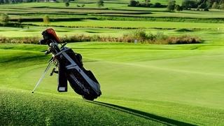 Golfing in Reischach