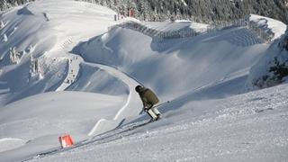 Early Bird Skiing