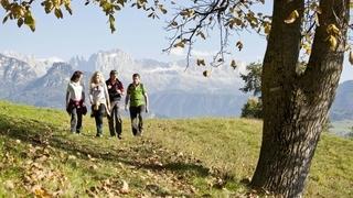 Autunno colorato nelle Dolomiti